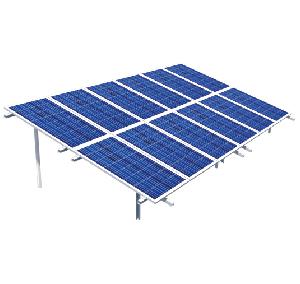 estructura fotovoltaica hincada a terreno