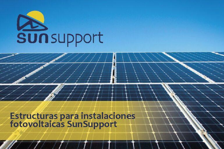 Estructuras para instalaciones fotovoltaicas SunSupport