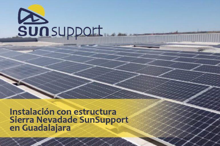 Instalación con estructura Sierra Nevada de SunSupport en Guadalajara