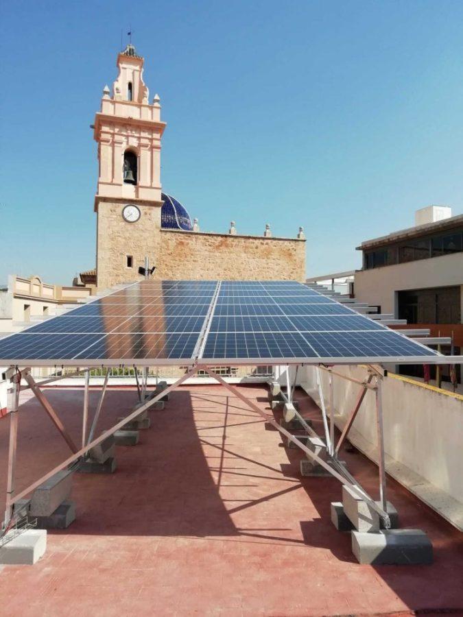 Instalación con estructura SunSupport en Chilches