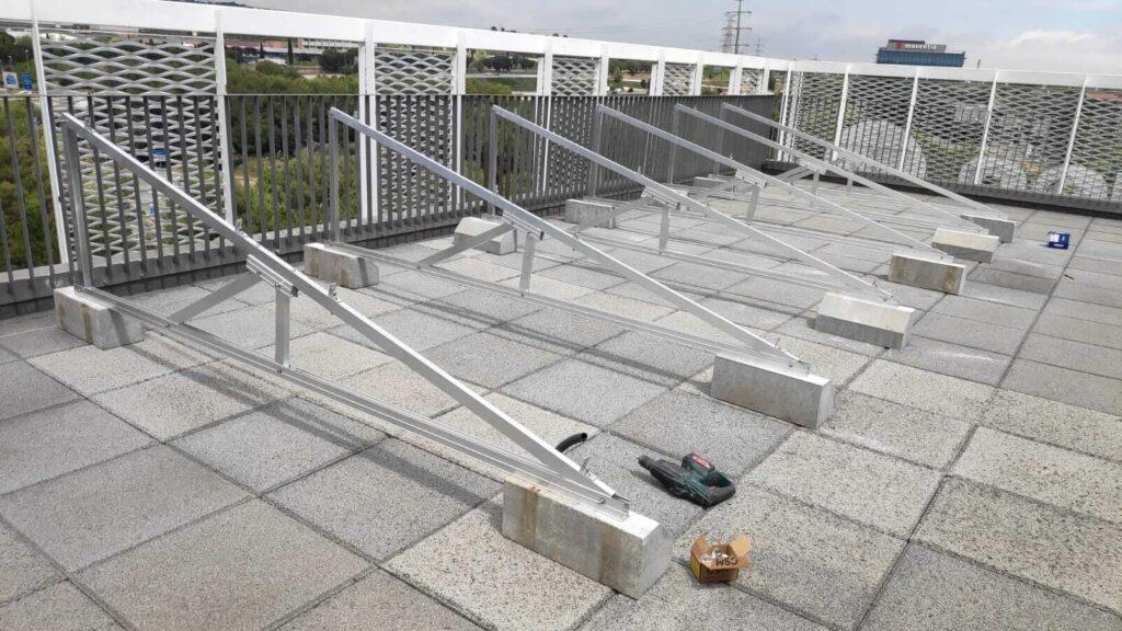 estructura mulhacén para cubierta en Barcelona
