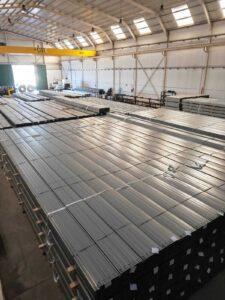 Fábrica de estructuras SunSupport en Ciudad Real