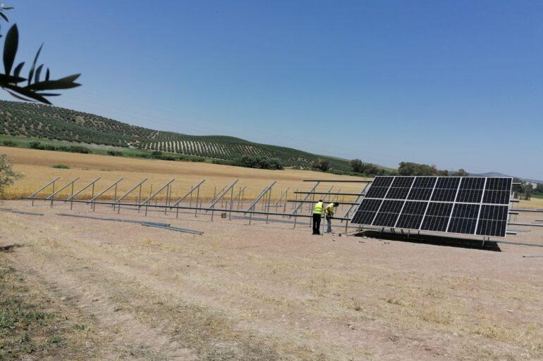 Instalación fotovoltaica de 100 kW en Córdoba