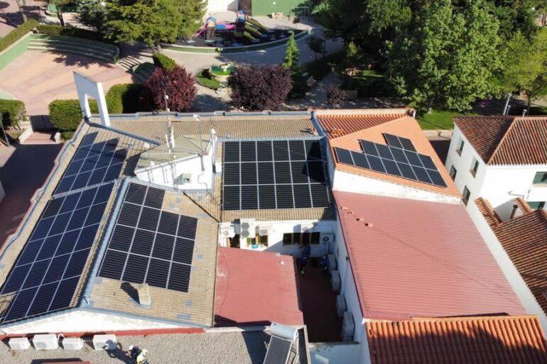 Installation photovoltaïque avec structure coplanaire Alcazar à Albacete