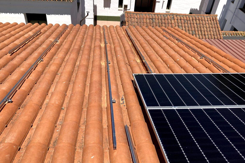 Proceso de Instalación con estructura coplanar Alcázar